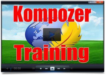 kompozer training course
